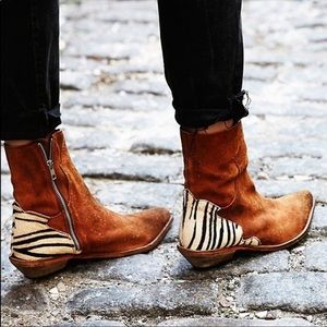 Free People Last Outlaw Ankle Boot